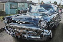 Cheryl Kelley - Car paintings