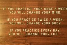 Yoga Quotes / Need a little inspiration in your life? This board is all about inspirational and motivational quotes, yoga quotes and words, yoga mantras