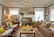 Mom and Dave's living room makeover / by Elizah DeMott