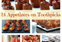 Yummy apps / Food for parties or mini items / by Jessica Roskopf