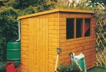 Storage Sheds / Our range of simple yet sturdy storage sheds
