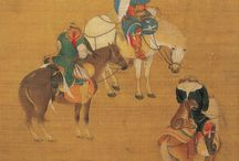 Mongol painting
