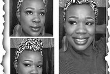 Turbans and Headwraps / Different ways to rock your natural.