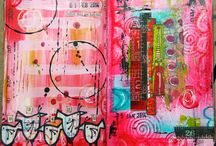 Art Journal Envy / Beautiful art journal pages