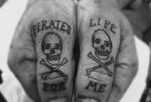 Pirate Ink / Pirate and Nautical tattoos. / by Captain's Deck Apparel