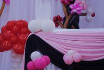 Graden Theme Decorations / Birthday Decorations