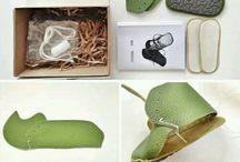 Membuat sepatu bayi