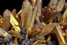 minerały, kryształy