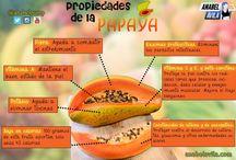 Frutas / Propiedades de las Frutas y usos