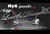 Love&Diamonds collection / NewCollection MyG jewels - Love & Diamonds