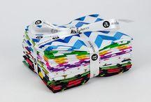 Crinkle Stripe / Fabrics designed by Kathy Hall.