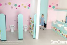 Education / Sanitaryware dedicated to the education sector. Providing sanitaryware for younger years, teens and teachers.