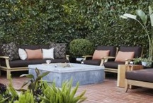Inviting Outdoor Spaces / Outside space has become more important to home owners.  Improving your outdoor living area increases your use and enjoyment of any property.