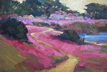 Karen White / paintings from Karen White's solo show at Studio Gallery Aug 11-29, 2016