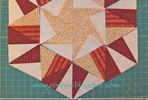 Patchwork vzory - triangl