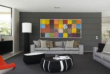 Paintings in rooms