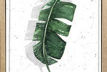 Botanic Summer / Tropen-Feeling für Zuhause   Möbel und Dekoration im Dschungel-Look