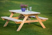 Handmade Cornish Garden Furniture / Our new range of Garden Furniture is almost ready. Handmade in Cornwall by our local craftsman.