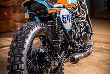 DIRT TRACK MOTORCYCLE