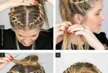 Cool hairstyles / Easy and pretty