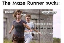 maze runner / scorch trials / death cure funny