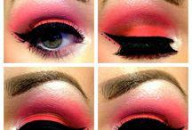 Make up / Eye make up.