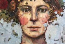 Juliette Belmonte / Peinture/collage