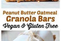 granola bars peanut butter oatmeal