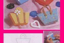 scatola di borsa