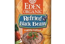 Eden Refried Beans / Meals are only minutes away with organic refried beans - tostadas, tacos, burritos, enchiladas, quesadillas, or a base for making soup. Delicious, smooth, & rich in fiber & healthy antioxidants. Served with cooked whole grains, they provide 'complete protein' with all essential amino acids. Heat with water and/or oil. Our beans are organically grown & expertly cooked at our certified organic kosher cannery. Low in fat & just a bit of Eden Sea Salt. No untoward ingredients. BPA free can linings.