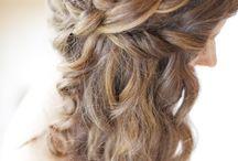 Kimberleys wedding hair