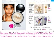 Avon Anew Skin Care Products - Skin Repairing and Protecting Regimen