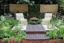 сад в стиле модерн