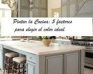 muebles de cocina tiza