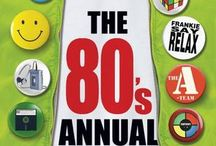The 80's Annual / Now available for pre-order from Waterstones and Amazon, to be published on 1st November 2016.