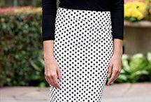 černá a bílá-základ šatníku