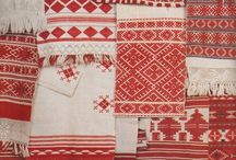 Red collected by GS / Red in textile design