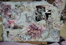 ..Maria / ..mixed media..\canvas Art