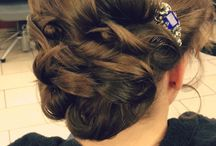 Bridal Hair Styles by Andrea Go / The weather is beautiful, and it's the season for weddings! Get taken away, and be inspired with these detailed Bridal Hair Styles by Donato Senior Stylist, Andrea Go / by Donato Salon + Spa