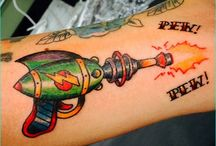 Most Artistic and Geeky sci-fi Tattoos / There are quite numerous reasons to get a tattoo: To remember a special moment, to commemorate a loved one, or just for the hell of it. There's no more concrete way to show your devotion to a cause than with a tattoo, though, so if you're a hardcore sci-fi fan and love your fandom, why not get a sci-fi inspired tattoo? After all, more often than not, people get tattoos of things they love and want to be reminded of all of the time.