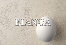 Bianca / Culori inedite, efecte uimitoare, libertate deplina de exprimare: toate acestea reprezinta liniile de produse decorative UCIC: Bianca si Bianca Vulcano.