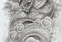 tatuajes dragones