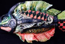 sculpture  - fish