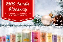 beautiful candles / Candle giveaway