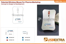 Printed Promotional USB Wireless Mouse