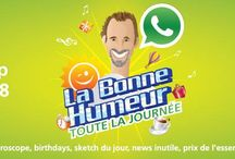 Morning Show - La Bonne Humeur / La Bonne Humeur is a morning show with Tanguy from Monday to Friday from 7 to 10 AM