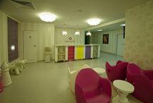 Private Healthcare Centers Design / interior design by ECLECTARTE in Private healthcare Domain