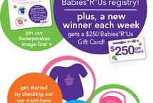 """Babies """"R"""" Us Dream Registry / by Mama-Nikki Vosburgh"""