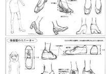 Cipő rajz