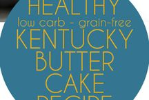 Low carb KENTUCKY BUTTER CAKE